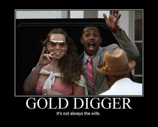 gold digging
