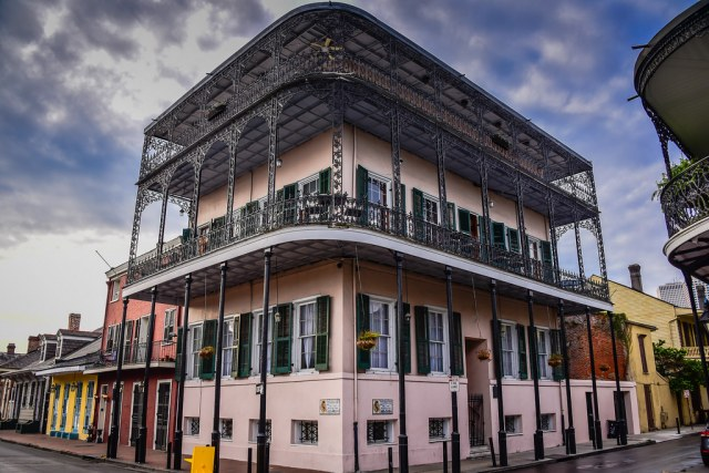 Haunted House in French Quarter New Orleans LA